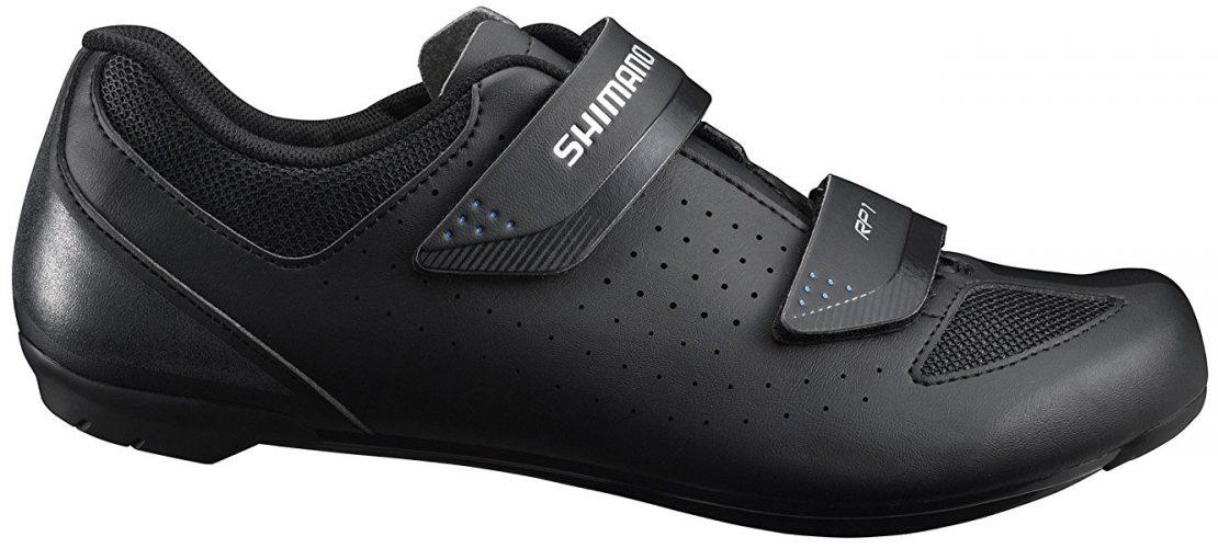 2018 Shimano Men's RP1 Bicycling Shoes Black - Cycling Shoes For Men