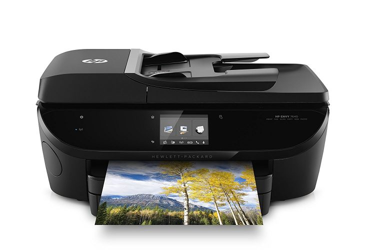 HP Envy 7640 Wireless All-in-One Photo Printer with Mobile Printing, Instant Ink ready (E4W43A)- All in one photo printer