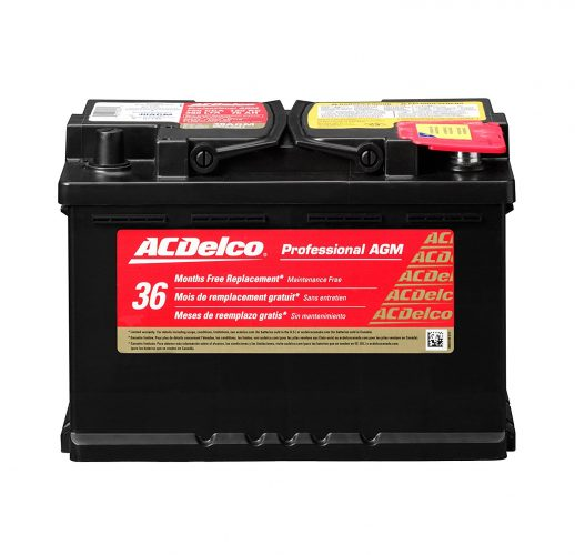 ACDelco 48AGM Professional AGM Automotive BCI Group 48 Battery - Car Battery