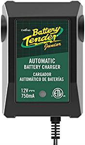Battery Tender 021-0123 Battery Tender Junior 12V, 0.75A Battery Charger - Battery Tenders