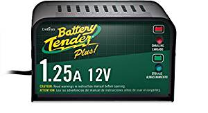Battery Tender Plus 021-0128, 1.25 Amp Battery Charger is a Smart Charger, it will fully Charge and Maintain a Battery at Proper Storage Voltage without the Damaging Effects Caused by Trickle Chargers - Battery Tenders