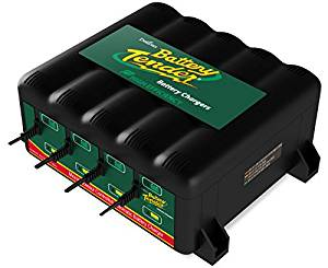 Battery Tender 022-0148-DL-WH 12-Volt 4-Bank Battery Management System - Battery Tenders