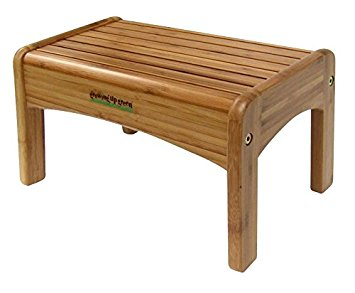 Growing Up Green Bamboo Step Stool - Wooden Stools