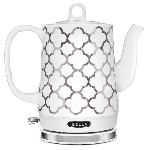 BELLA 1.2L Electric Ceramic Tea Kettle with detachable base and boil dry protection - Electric Kettles