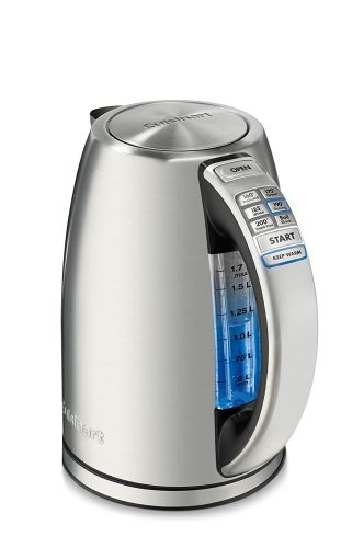 Cuisinart CPK-17AMZ Perfect Temp Cordless Programmable Kettle, Stainless Steel - Electric Kettles