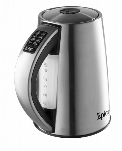 Epica 6-Temperature Variable Stainless Steel Cordless Electric Kettle - Electric Kettles