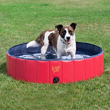 FrontPet Foldable Dog Pet Pool Bathing Tub - dog pools
