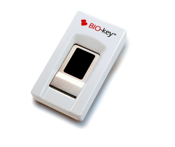 BIO-key EcoID Fingerprint Reader - Tested & Qualified by Microsoft for Windows Hello - Eliminate Passwords on Windows 7/8.1/10 - Includes OmniPass Online Password Vault with Purchase - Fingerprint Scanners