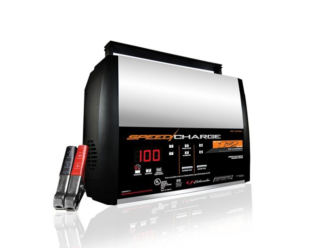 Schumacher SC-1200A-CA Speed Charge 12Amp 6/12V Fully Automatic Battery Charger - Car Battery Chargers