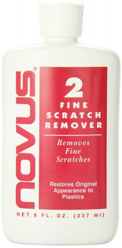 NOVUS 2 Plastic Fine Scratch Remover - 8 oz.- Owing car scratch removers