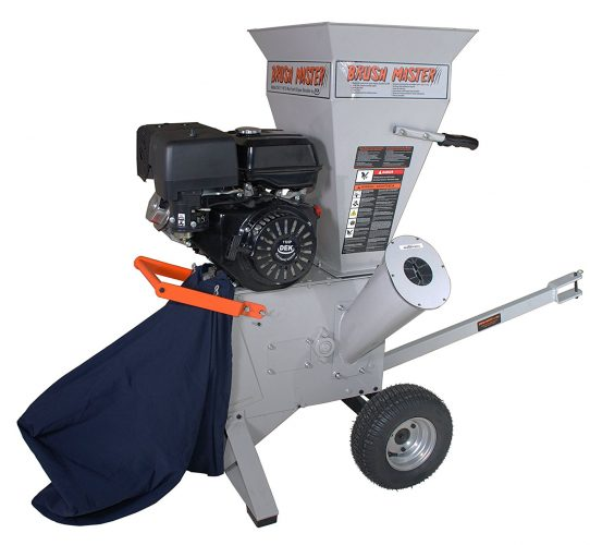 Brush Master Chipper Shredder CH3M17 - wood chippers