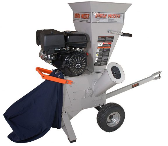 Brush Master Chipper Shredder CH4M17 - wood chippers