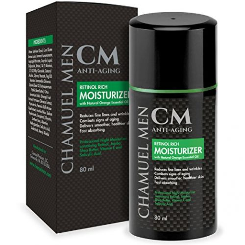 Chamuel Men's Anti Aging Face Cream - eye creams for men