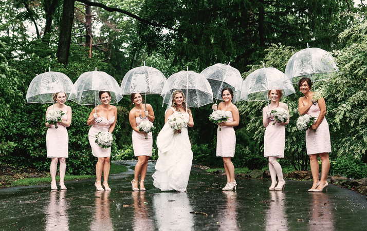 Clear Bubble Umbrellas