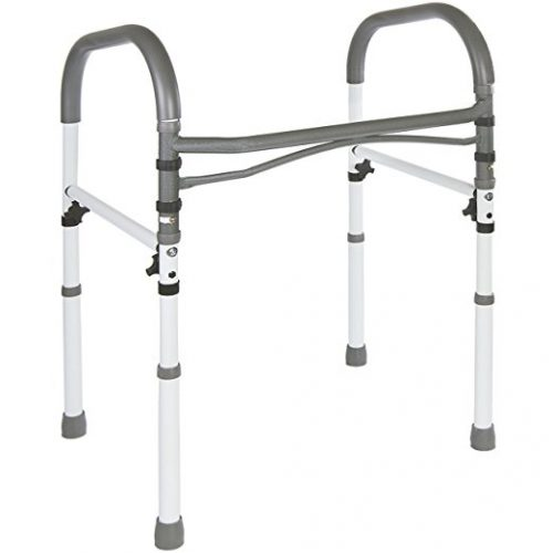 Deluxe Bathroom Safety Toilet Rail - toilet safety frames & rails
