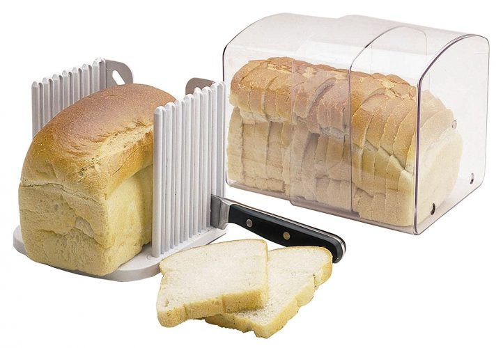 Kitchencraft Bread Keeper [Expanding] - bread slicers