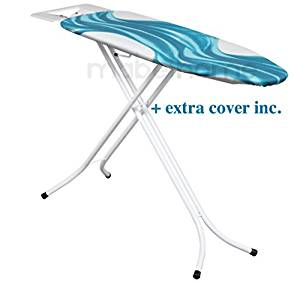 Mabel Home Adjustable Height, Deluxe, 4-leg, Ironing Board, + Extra Cover - Ironing Boards