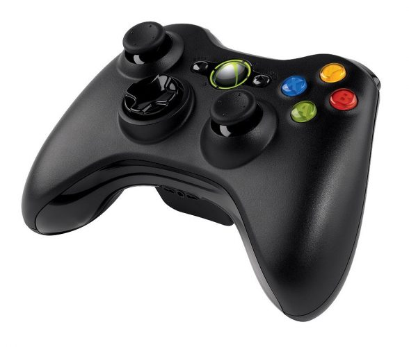 Microsoft Xbox 360 Console - gaming controller