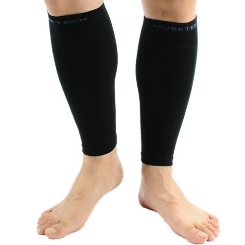Musetech Compression Calf Sleeves [Pair] - Compression Leg Sleeves