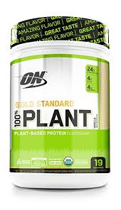 Optimum Nutrition Gold Standard 100% Organic Plant-Based Vegan Protein Powder, Complete Amino Acid Profile, Vanilla, 1.51 Pound - Organic Protein Powders