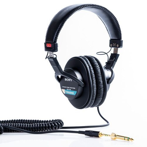 Sony MDR7506 Professional Large Diaphragm Headphone - studio headphones