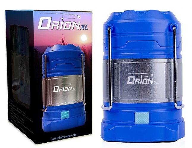 Supernova Orion LED Camping Lantern - LED Chargeable Lanterns