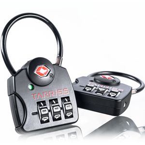 Tarriss TSA Lock with SearchAlert (2 Pack) - Luggage Locks