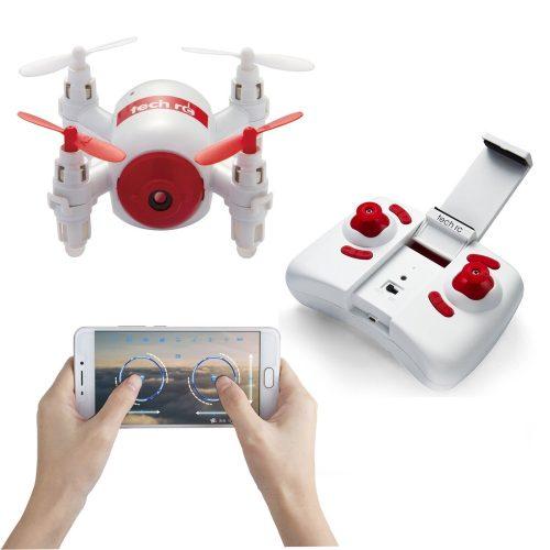 Tech RC TR006 RC Mini Drone - smart nano drones