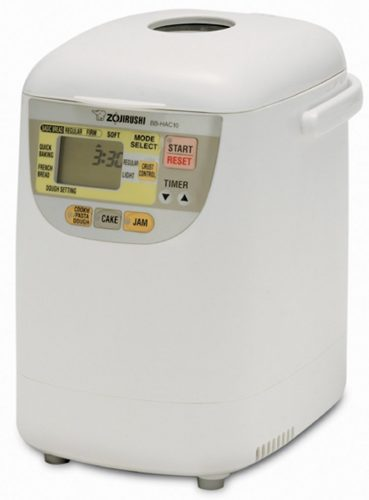 Zojirushi BB-HAC10 Home Bakery 1-Pound-Loaf Programmable Mini Breadmaker - Bread Machines