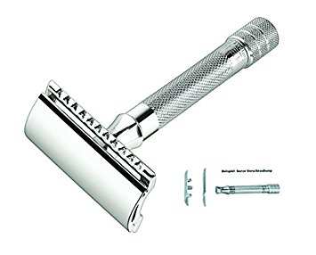 Merkur Classic 3-Piece Razor Double Edge Safety Razor - Double Edge Safety Razors