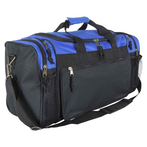 "DALIX 19"" Gym Duffel Bag with Water Bottle / Valuables Soft Side Pockets - Gym Bags"