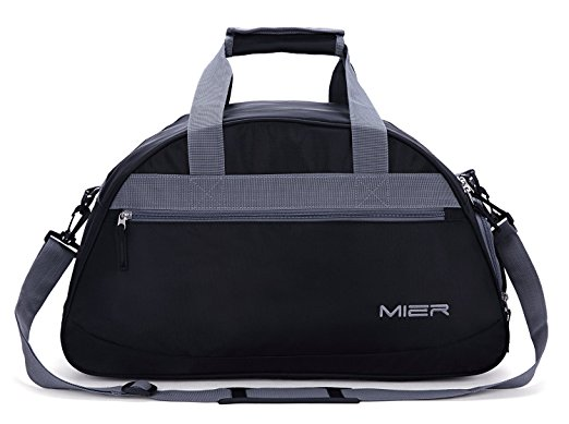 "MIER 20"" Sports Gym Bag Travel Duffel Bag with Shoes Compartment for Women, Men - Gym Bags"
