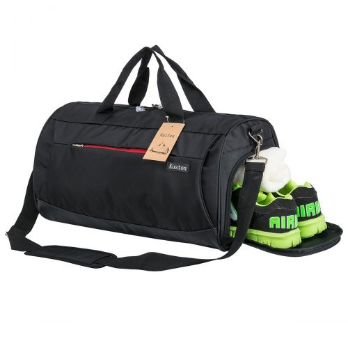 Sports Gym Bag with Shoes Compartment Travel Duffel Bag for Men and Women - Gym Bags
