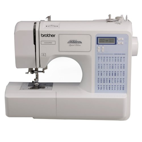 Brother Project Runway CS5055PRW Electric Sewing Machine - 50 Built-In Stitches - Automatic Threading - Sewing Machines