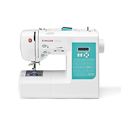 SINGER | 7258 100-Stitch Computerized Sewing Machine with 76 Decorative Stitches, Automatic Needle Threader and Bonus Accessories, Best Sewing Machine for Quilting - Sewing Machines