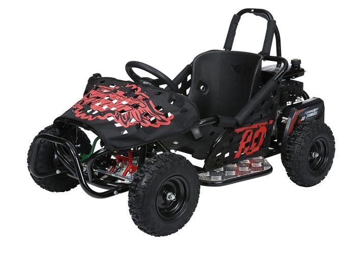 Monster Moto MM-K80-BR Black Frame with Red Graphics Go Kart - Off Road Go Karts