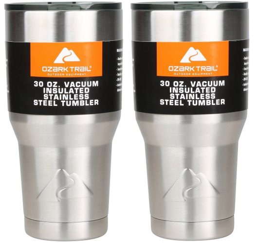 Ozark Double-Wall Insulated stainless steel tumblers - set of 2, 30 oz.