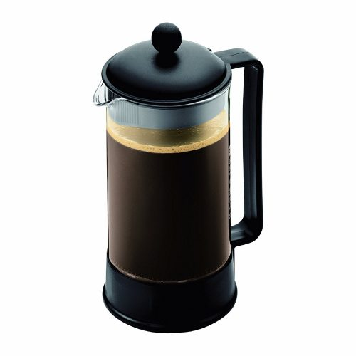 Bodum BRAZIL Coffee Maker, French Press Coffee Maker, Black, 34 Ounce (8 Cup)