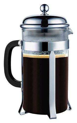 Coffee Maker French Press-[Double Filter - the Purest home-brewed coffee/tea] Gift 2 Free Bonus Screens