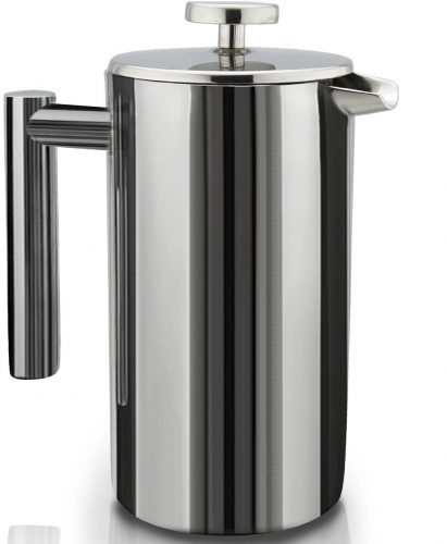 SterlingPro DoubleWall Stainless Steel French Coffee Press