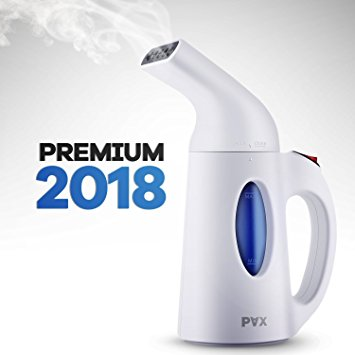 PAX Steamers For Clothes, Clothes Steamer, New Design, Powerful, Travel and Home Handheld Garment Steamer, 60 Seconds Heat-Up, Fabric Steamer With Automatic Shut-Off Safety Protection - Handheld Fabric Steamers