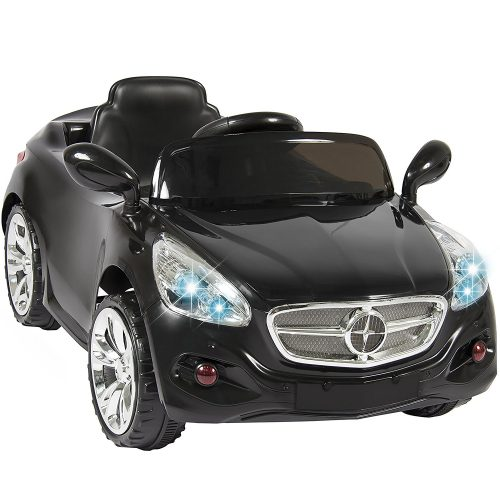 Best Choice Products Kids 12V Electric Power Ride On Car with Radio & MP3, Black - Electric Cars For Kids
