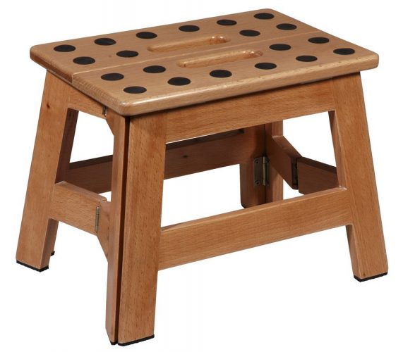 Puhlmann James Foldable Wooden Stool