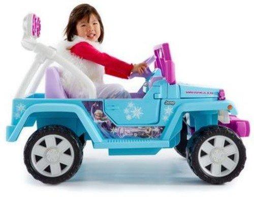 Power Wheels Disney Frozen Jeep Wrangler - Electric Cars For Kids