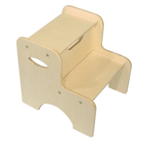 KidKraft Two Step Stool - Natural