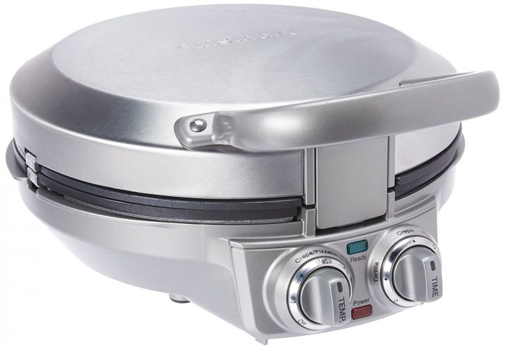Cuisinart CPP-200 International Chef Crepe/Pizzelle/Pancake Plus, Stainless Steel 0 - Crepe Makers