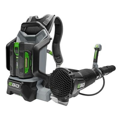 Backpack Blower with Brushless Cordless Motor Features Jet-Engine Inspired Turbine Fan, EGO's ARC Lithium Battery Technology and Robust Tool Construction, Ideal for Outdoor Cleaning - Cordless Backpack Blowers