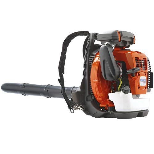 Husqvarna Backpack Blower - 236 MPH Max Air Speed, 65.6 cc 4 hp Engine, Red/Black - Cordless Backpack Blowers