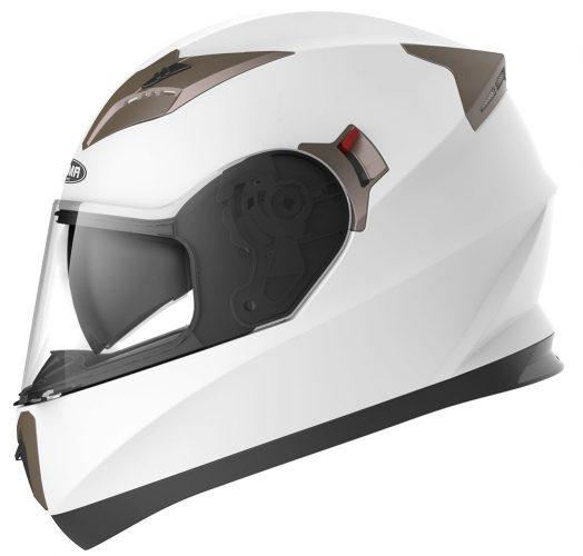 Motorcycle Full Face Helmet DOT Approved - YEMA YM-829 Motorbike Moped Street Bike Racing Crash Helmet with Sun Visor for Adult, Men and Women