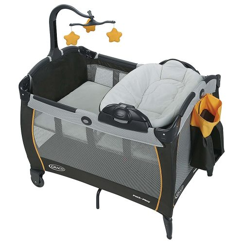 Graco Pack 'n Play Playard Portable Napper and Changer LX, Sunshine